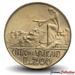 VATICAN - PIECE de 200 Lires - 1978 Km#138