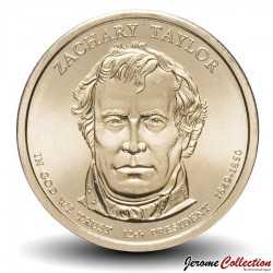 ETATS UNIS / USA - PIECE de 1 Dollar - Séries Présidents: Zachary Taylor - 2009 - D Km#453