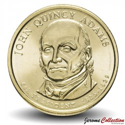 ETATS UNIS / USA - PIECE de 1 Dollar - Séries Présidents: John Quincy Adams - 2008 - D Km#427