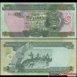 SALOMON (ILES) - Billet de 2 DOLLARS - Pêcheurs - 2011 P25a2