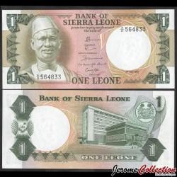 SIERRA LEONE - Billet de 1 Leone - Président Siaka Stevens - 1.07.1981 P5d