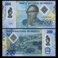 ANGOLA - Billet de 200 Escudos - Dr. António Agostinho Neto - Polymer - 2020 P160a