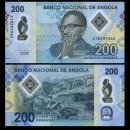ANGOLA - Billet de 200 Escudos - Dr. António Agostinho Neto - Polymer - 2020