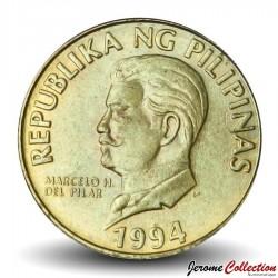 PHILIPPINES - PIECE de 50 Sentimo - Un aigle des singes - 1994