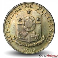 PHILIPPINES - PIECE de 5 Sentimos - Melchora Aquino - 1968