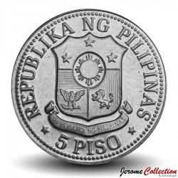 PHILIPPINES - PIECE de 5 Piso - Président Marcos - 1975