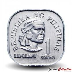 PHILIPPINES - PIECE de 1 Piso - Lapu-Lapu - 1976 Km#205