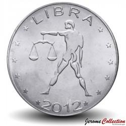 SOMALILAND - PIECE de 10 Shillings - Signe du Zodiaque - Balance - 2012 Km#new