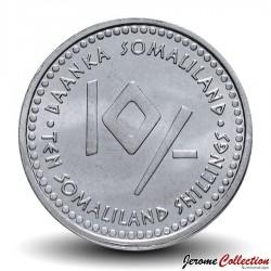 SOMALILAND - PIECE de 10 Shillings - Signe Astrologique - Scorpion - 2006