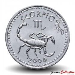SOMALILAND - PIECE de 10 Shillings - Signe Astrologique - Scorpion - 2006 Km#16