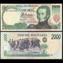 VENEZUELA - Billet de 2000 Bolivares - Antonio Jose de sucre - 12.05.1994