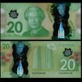 CANADA - Billet de 20 DOLLARS - Polymer - 2014 P108b
