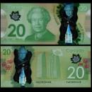 CANADA - Billet de 20 DOLLARS - Polymer - 2014