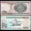 VANUATU - Billet de 1000 Vatu - Voilier à balancier - 2010