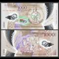 VANUATU - Billet de 1000 Vatu - 40e anniversaire de l'indépendance - Polymer - 2020 P21a2
