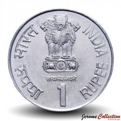 INDE - PIECE de 1 Roupie - Centenaire de Lok Nayak Jaya Prakash Narayan - 2002