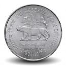 INDE - PIECE de 2 ROUPIES - Jubilé de Platine de la Banque Royale d'Inde - 2010