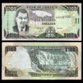 JAMAIQUE - Billet de 100 DOLLARS - 15.1.2011 P84f
