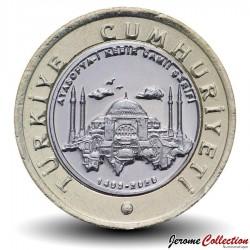 TURQUIE - PIECE de 1 Lira - Mosquée Sainte-Sophie - 2020 Km#New