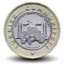 TURQUIE - PIECE de 1 Lira - Mosquée Sainte-Sophie - 2020