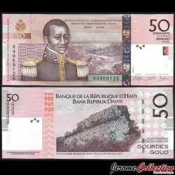 HAITI - Billet de 50 Gourdes - 2013 P274d
