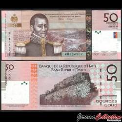 HAITI - Billet de 50 Gourdes - 2010 P274c