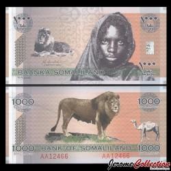 SOMALILAND - Billet de 1000 Shillings - Lion, chameau - 2006 PCS1