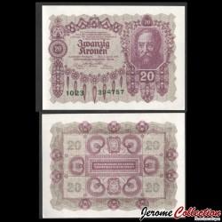 AUTRICHE / Oesterreichische Geschäftsführung - Billet de 20 Couronne autrichienne - 1922 P76a