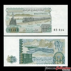 ALGERIE - Billet de 10 Dinars - Train - 1983