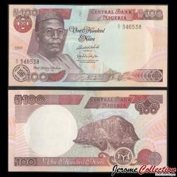 NIGERIA - Billet de 100 Naira - Zuma Rock - 2007 P28h1
