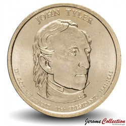 ETATS UNIS / USA - PIECE de 1 Dollar - Séries Présidents: John Tyler - 2009 - P Km#451