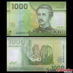 CHILI - BILLET de 1000 Pesos - Polymer - 2010