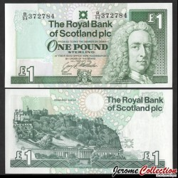 ECOSSE - Billet de 1 Pound - Lord Ilay - 1993