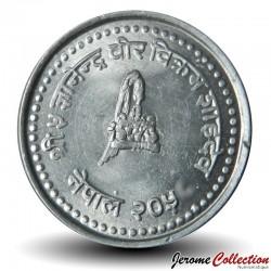 NEPAL - PIECE de 10 Paisa - 1996 - २०५३