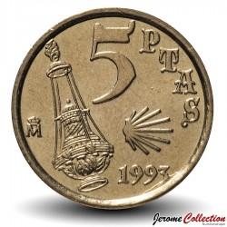 ESPAGNE - PIECE de 5 Pesetas - Jacobeo - 1993