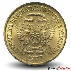SAO TOMÉ-ET-PRINCIPE - PIECE de 50 cêntimos - FAO - 1977