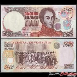 VENEZUELA - Billet de 5000 Bolivares - Vicente Emparan - 10.02.1998 P78b