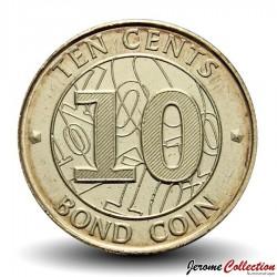 ZIMBABWE - PIECE de 10 Cents - Bond coin - 2014 Km#18