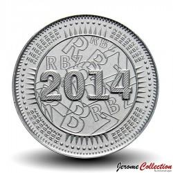 ZIMBABWE - PIECE de 25 Cents - Bond coin - 2014