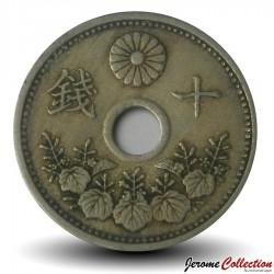 JAPON - PIECE de 10 Sen - 1927