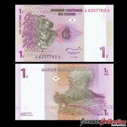 CONGO - BILLET de 1 Centime - 1997