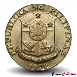 PHILIPPINES - PIECE de 50 sentimos - Marcelo Delpilar - 1972