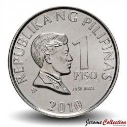 PHILIPPINES - PIECE de 1 Piso - Jose Rizal - 2010 Km#269a
