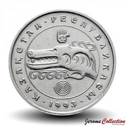 KAZAKHSTAN - PIECE de 3 Tenge - Loup Mythique - 1993 Km#8