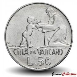 VATICAN - PIECE de 50 Lires - Jésus avec l'Enfant - 1978 Km#136
