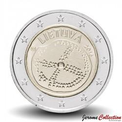 LITUANIE - PIECE de 2 Euro - Culture balte - 2016 Km#221