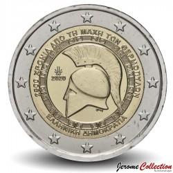 GRECE - PIECE de 2 Euro - Bataille des Thermopyles - 2020 Km#new