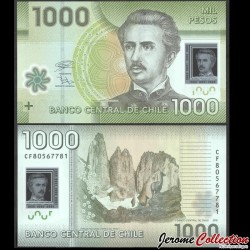 CHILI - BILLET de 1000 Pesos - Polymer - 2018 P161h