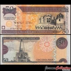 REPUBLIQUE DOMINICAINE - Billet de 50 PESOS ORO - 2012 P183b