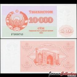 OUZBEKISTAN - Billet de 10000 Som - Médersa - 1992 P72a